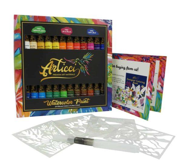 Articci Watercolour Paint Set