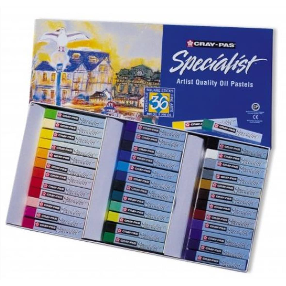 Cray Pas Specialist Oil Pastels - 36 pack