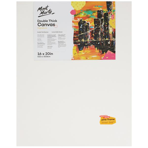 Signature Canvas 40.6 x 50.8cm Double Thick
