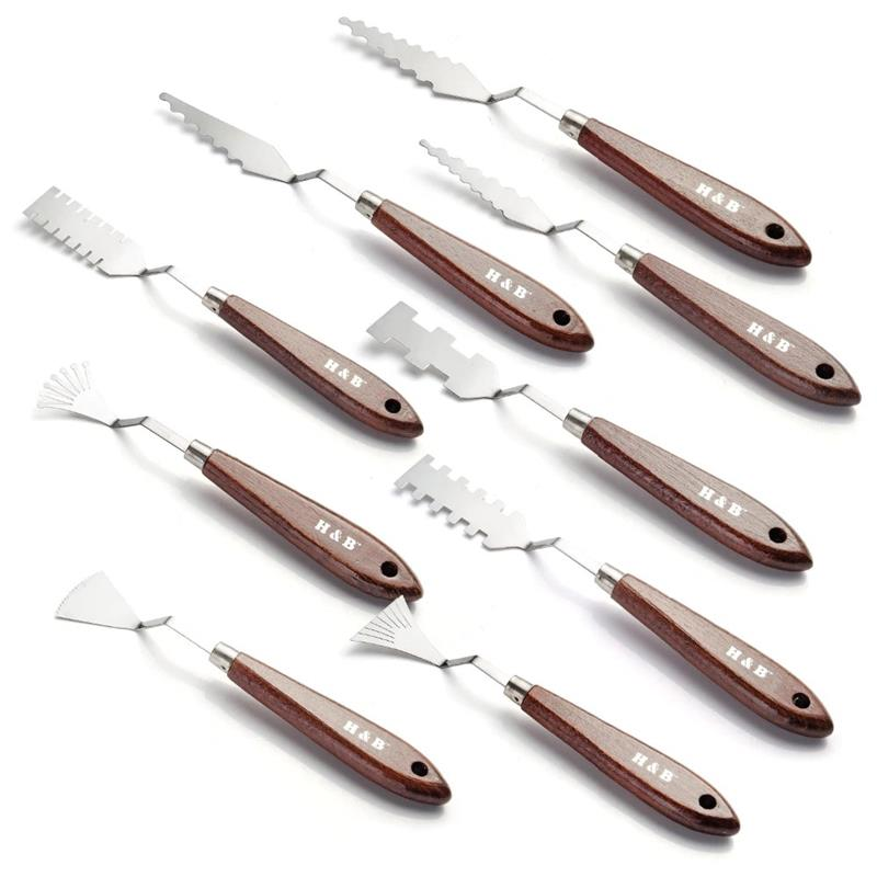Creative Palette Knife Set 9pcs