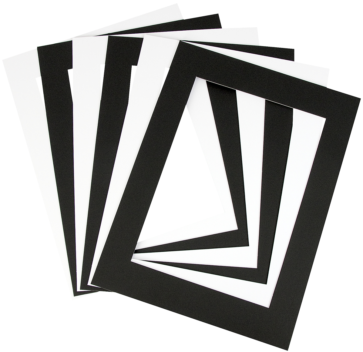 A3 Mount Double-Sided Black & White