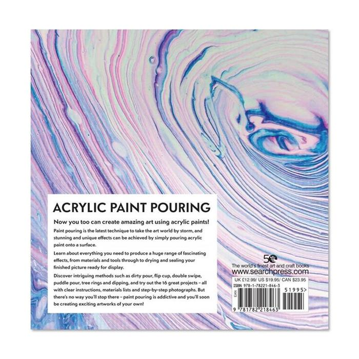 Acrylic Paint Pouring by Tanja Jung