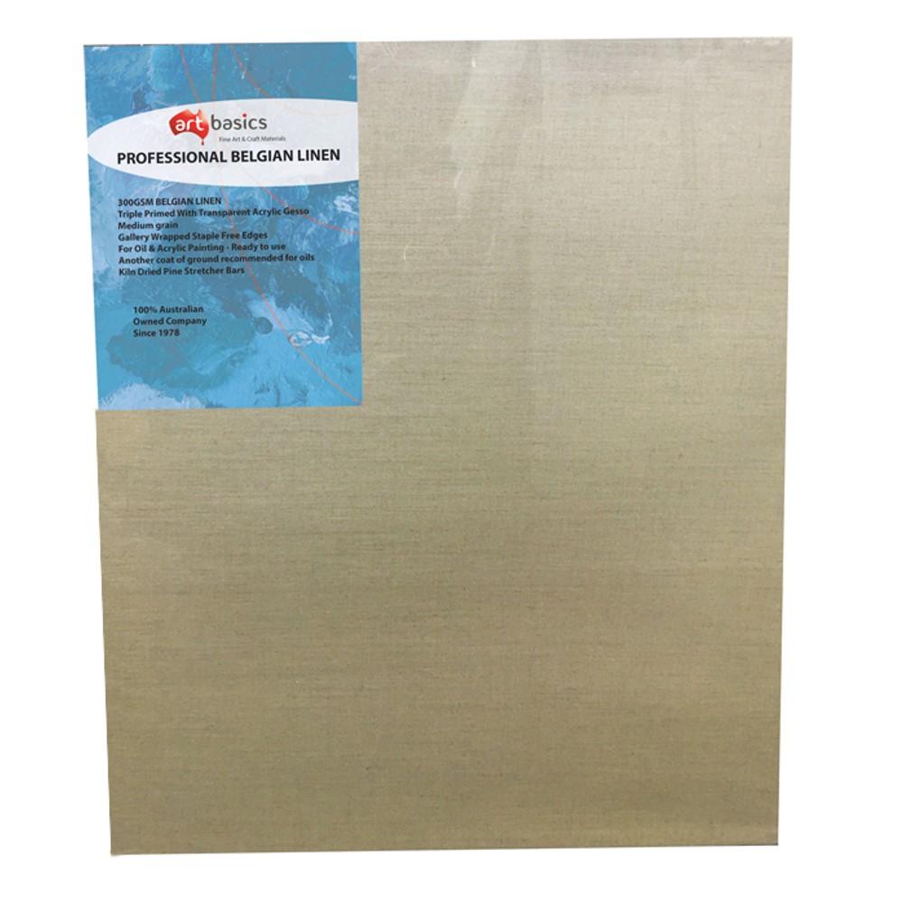 Professional Belgian Linen Canvas