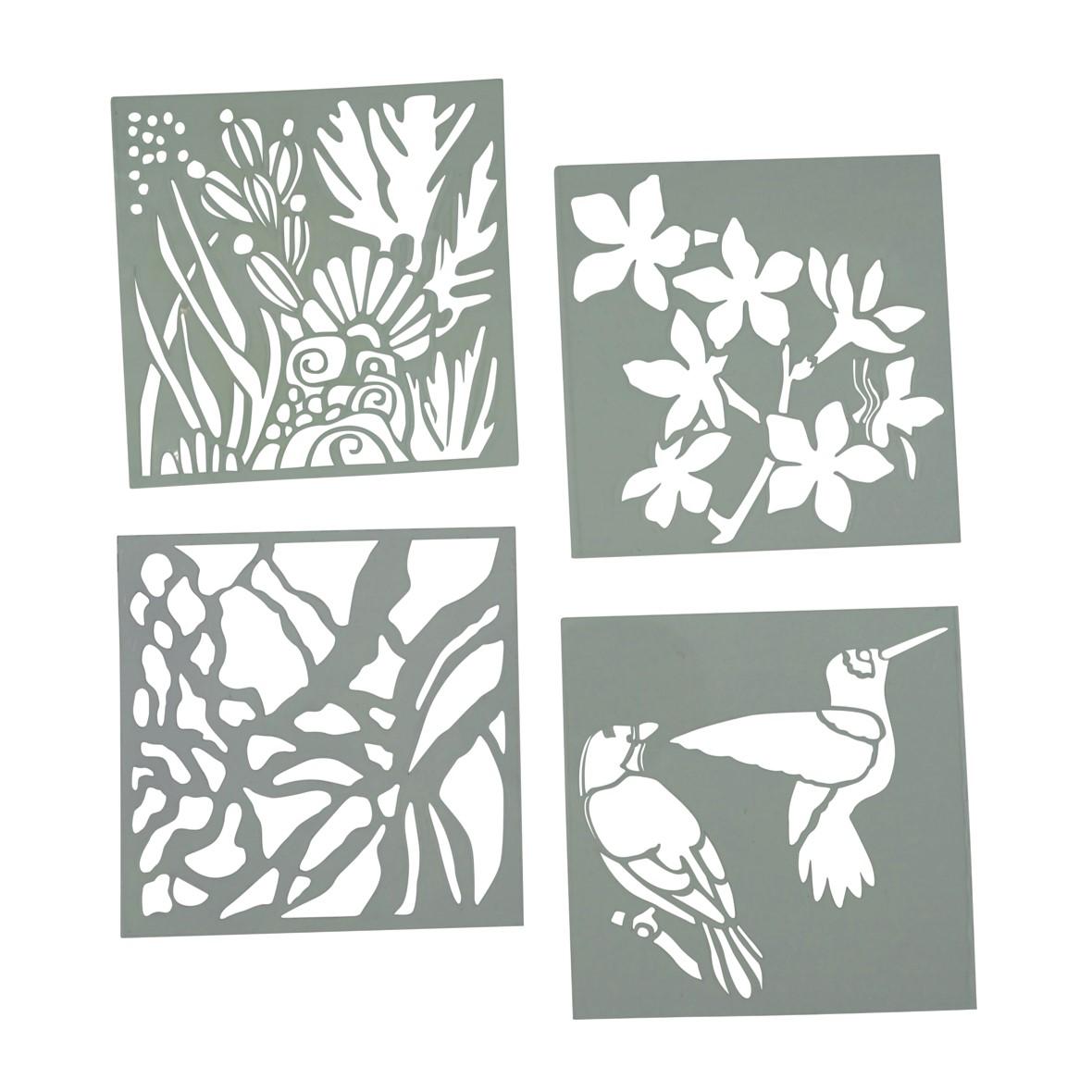Articci Set of 4 Stencils