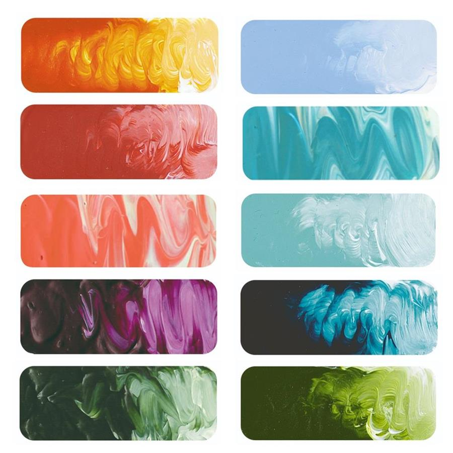 Matisse Structure Australian Colours Sampler Set