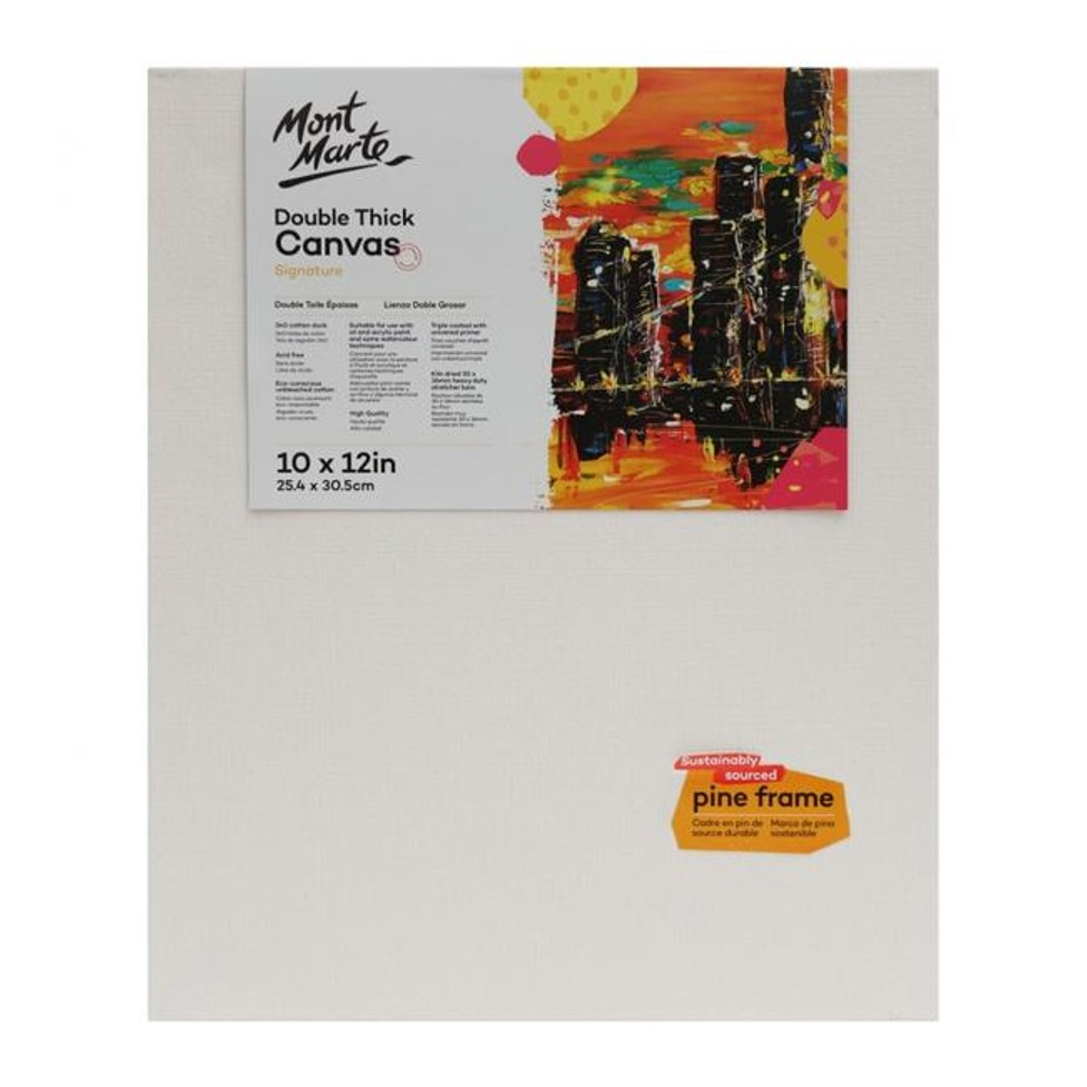 Double Thick Canvas 25.4 x 30.5cm (10 x 12in)