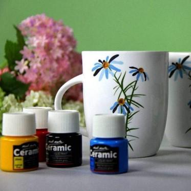 Ceramic Paint Set 6pcs
