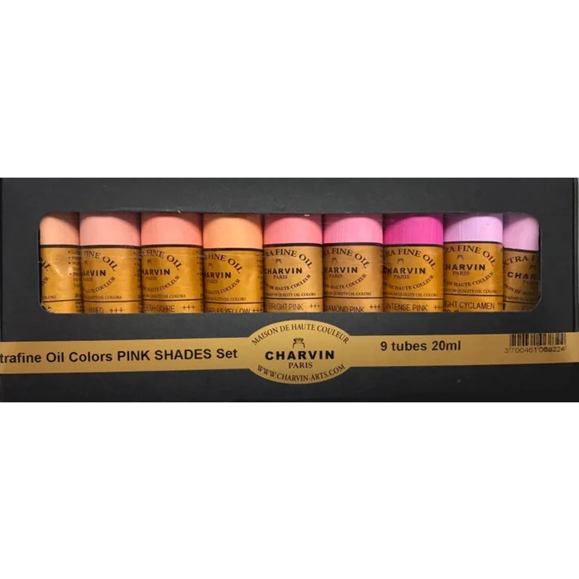 Charvin Extra Fine Oil Set Pink Shades