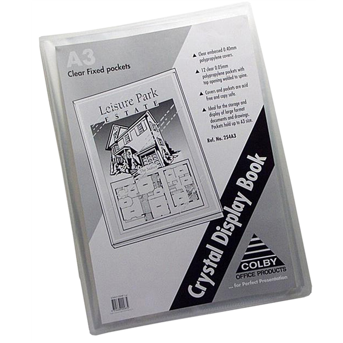 A3 Display Folder Clear Cover