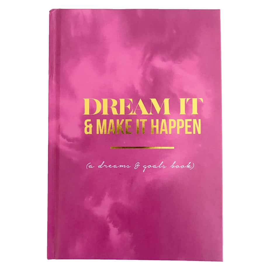 Dream It and Make It Happen Planner