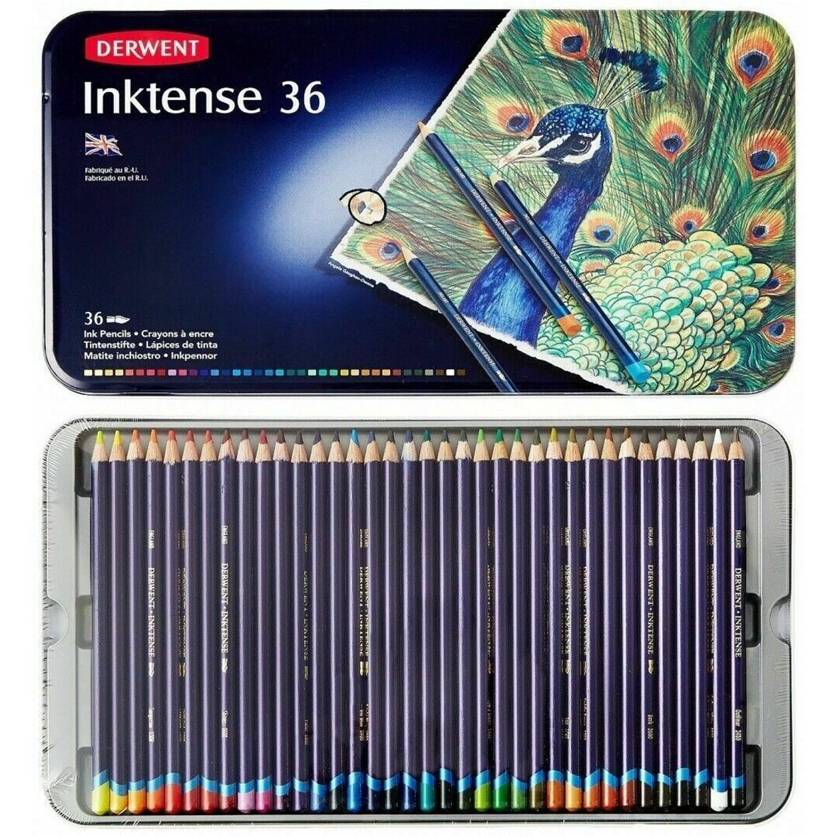 Inktense Pencils set of 36