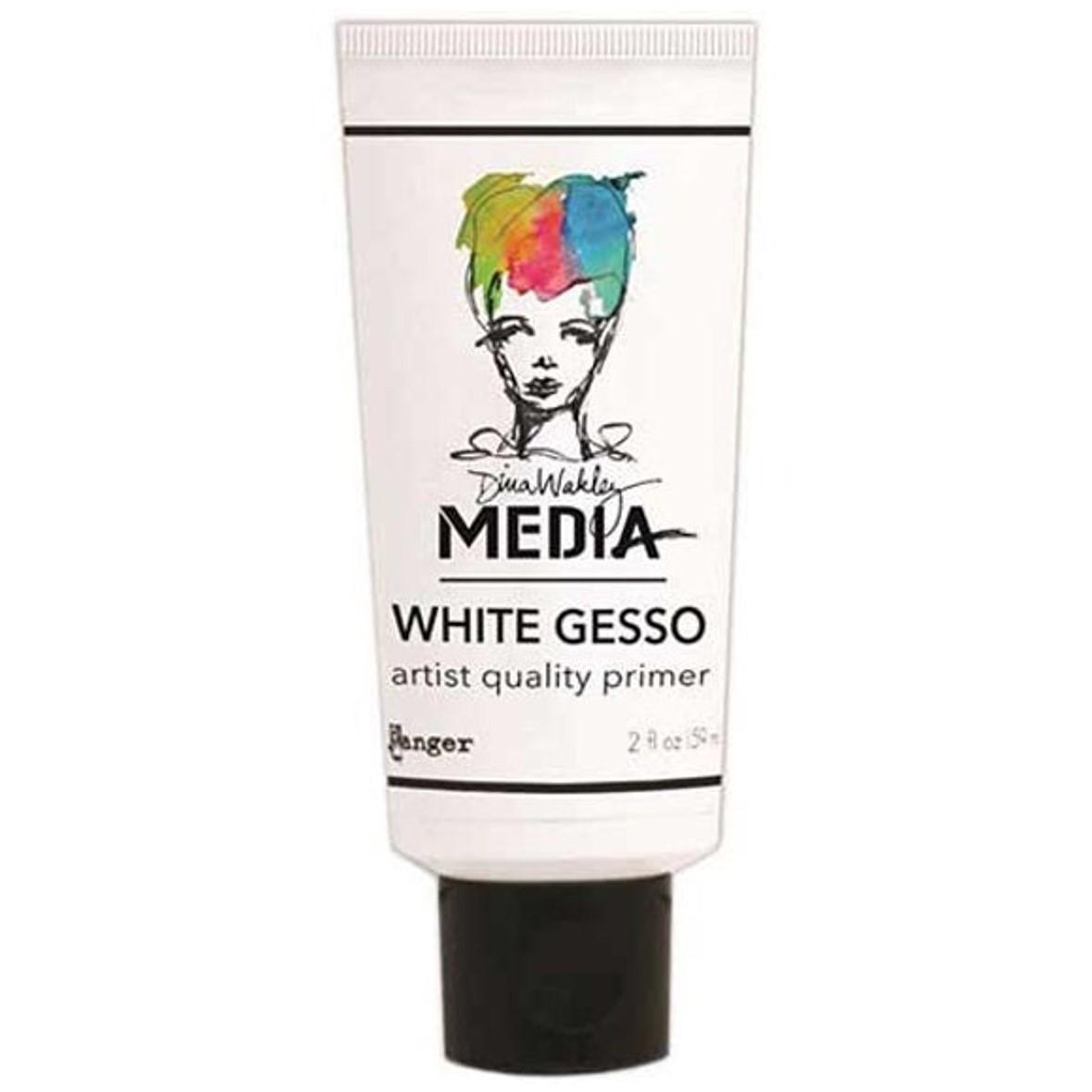 Dina Wakley White Gesso - 59ml
