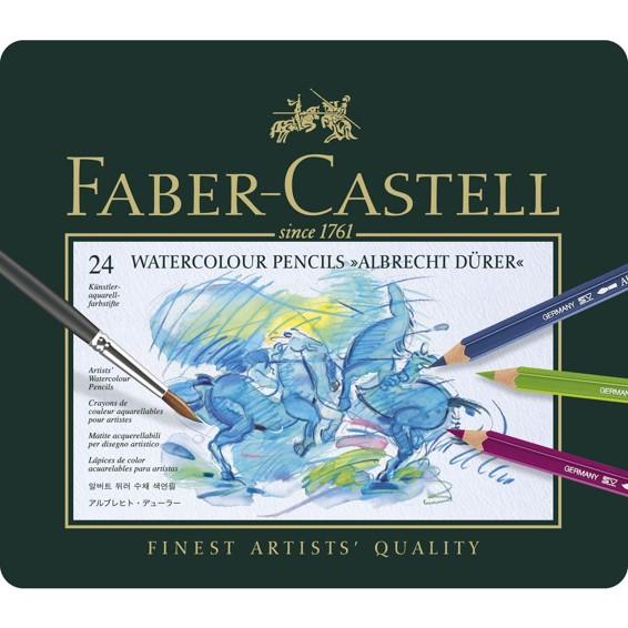 Faber-Castell Watercolour Pencils 24 set
