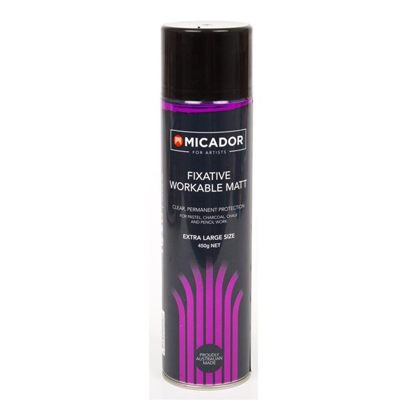 Micador Fixative Workable Matt Spray