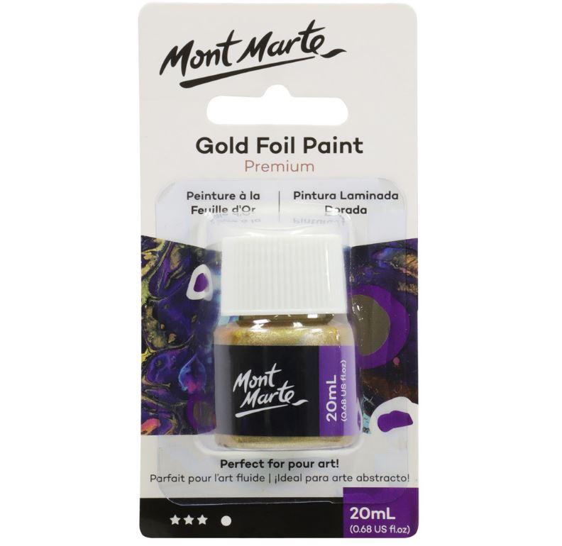 Gold Foil Paint 20ml