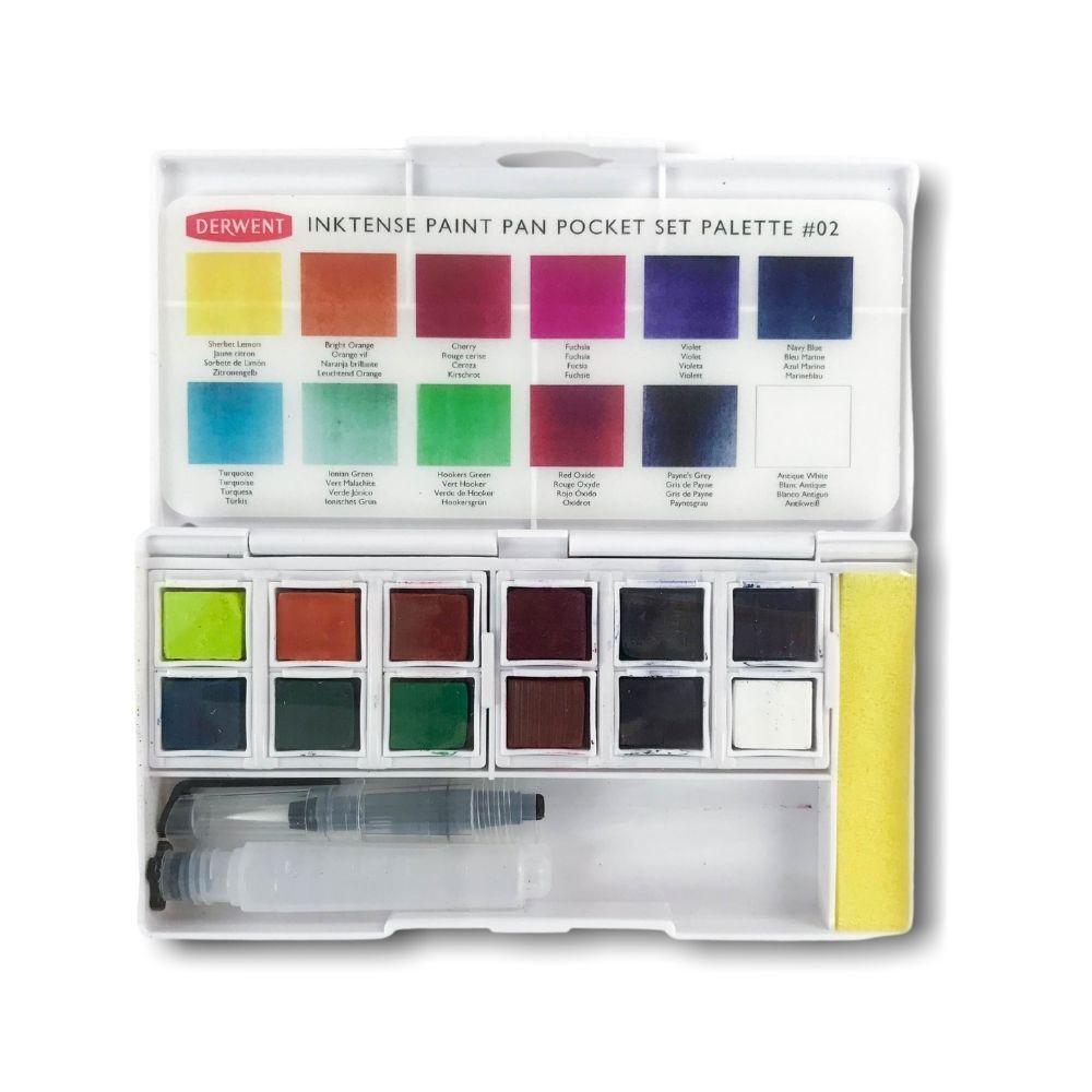 Derwent Inktense Paint Pan Set 2