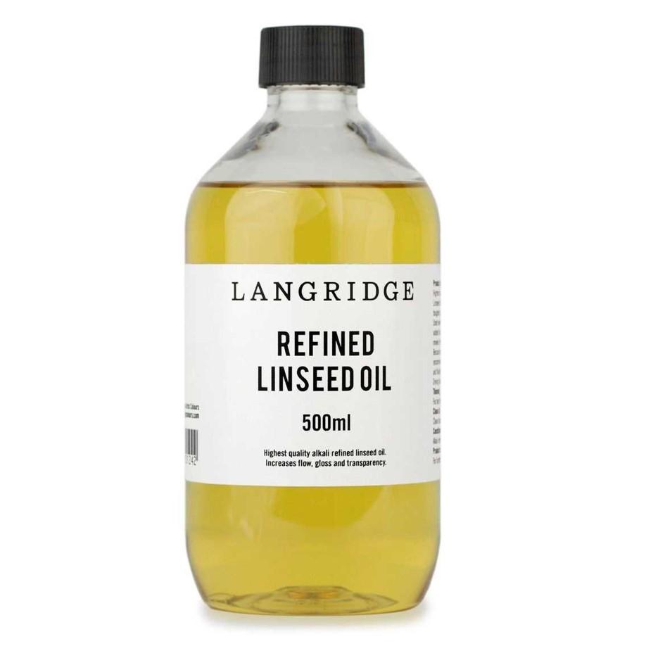 Langridge Refined Linseed Oil