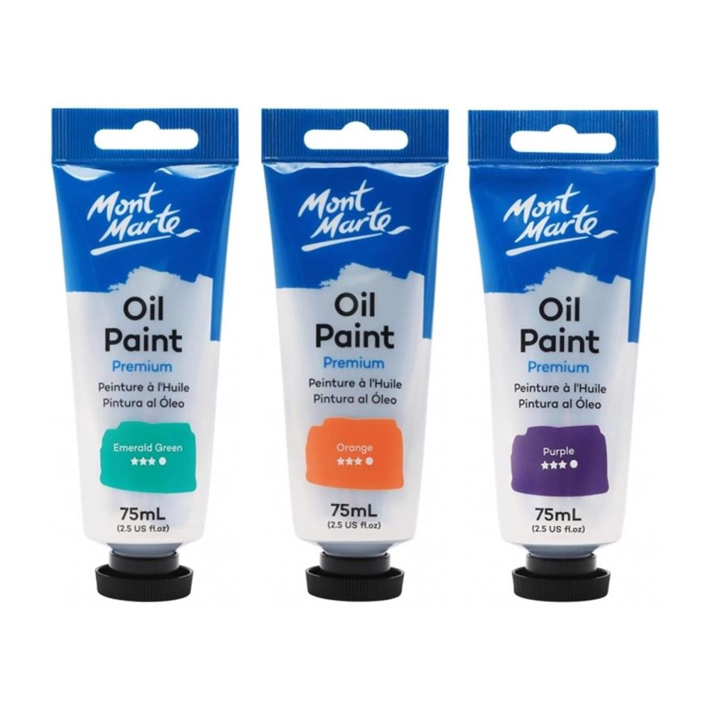 Mont Marte Premium Oil Paint 75ml