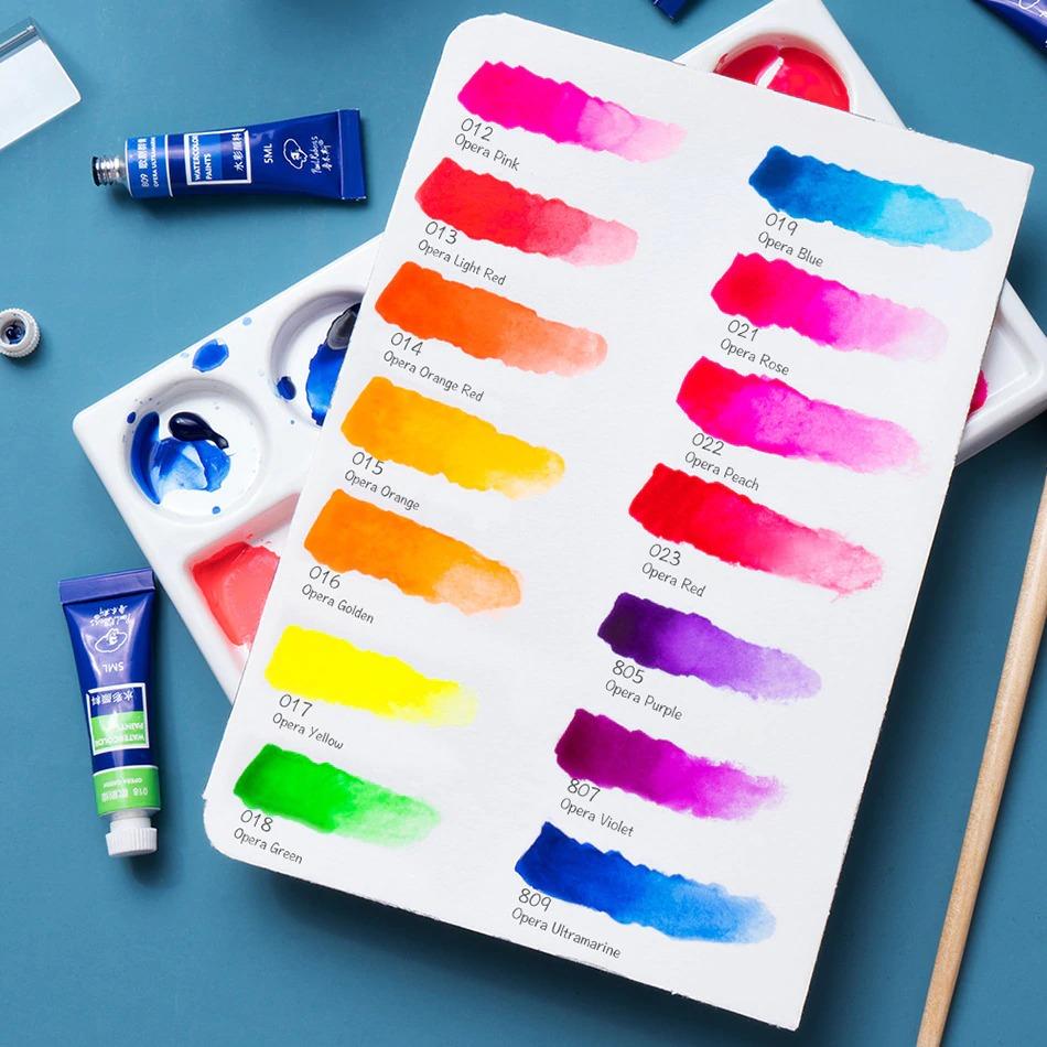 Opera Colours Watercolour Tube Set 14pce