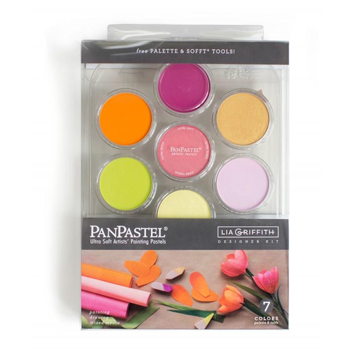 Panpastel 7 Colour Set - Lia Griffith Flower