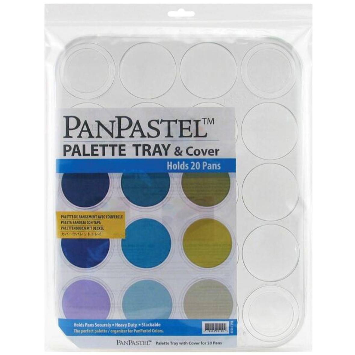 Panpastel Palette Tray With Cover (Holds 20 colours)