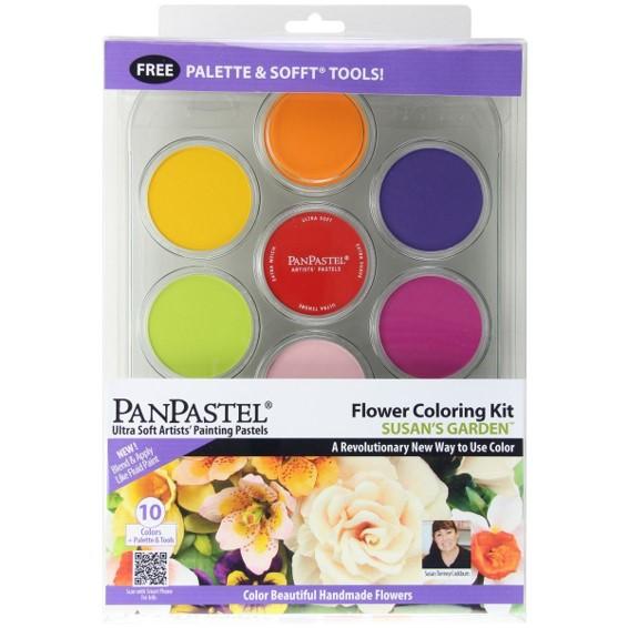 Panpastel 10 Colour Set - Susan's Garden Set 1