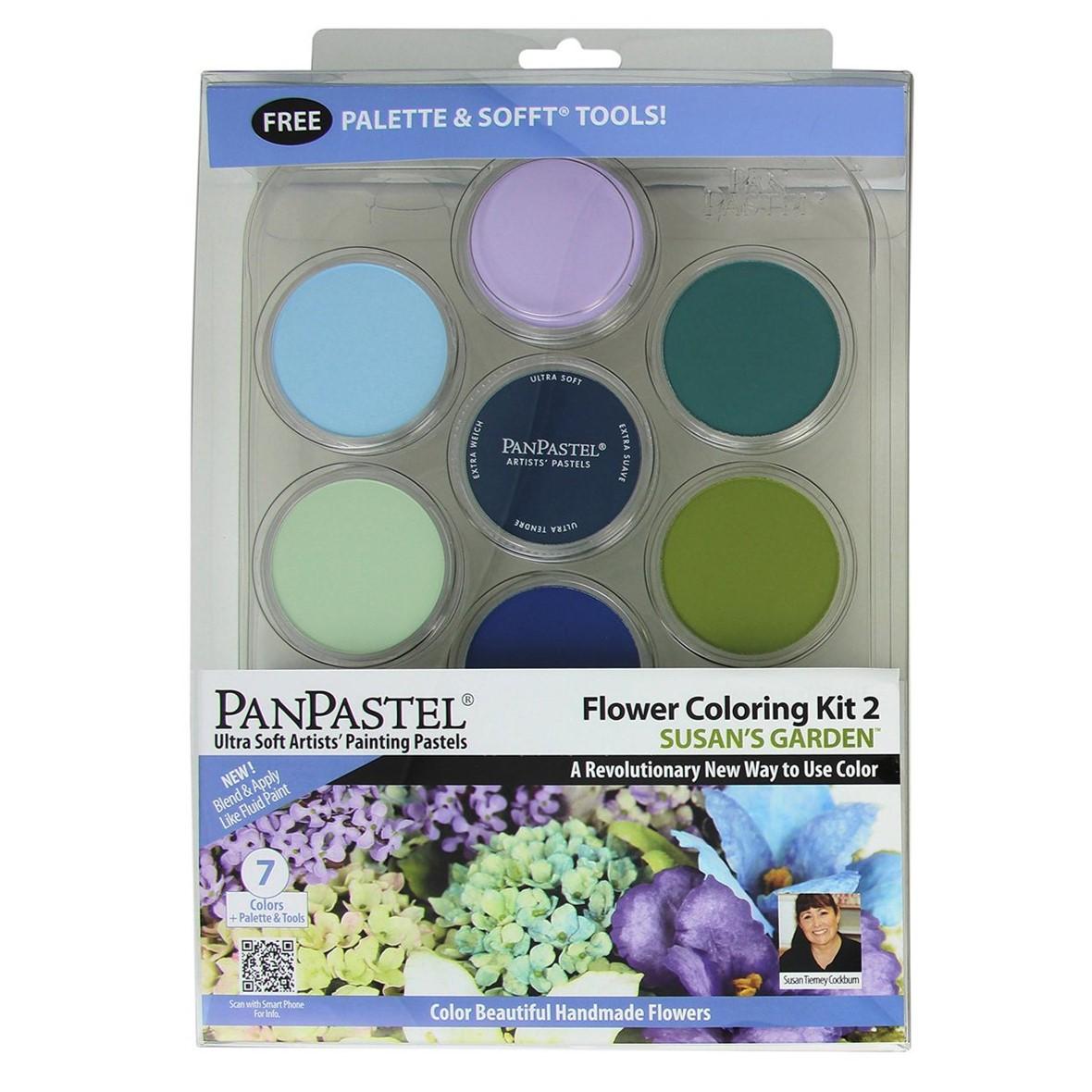 Panpastel 7 Colour Set - Susan's Garden Set 2
