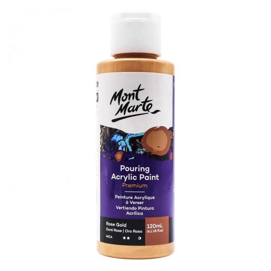 Rose Gold Pouring Acrylic Paint 120ml