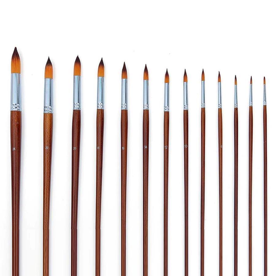 Nylon Long Handle Round Brushes
