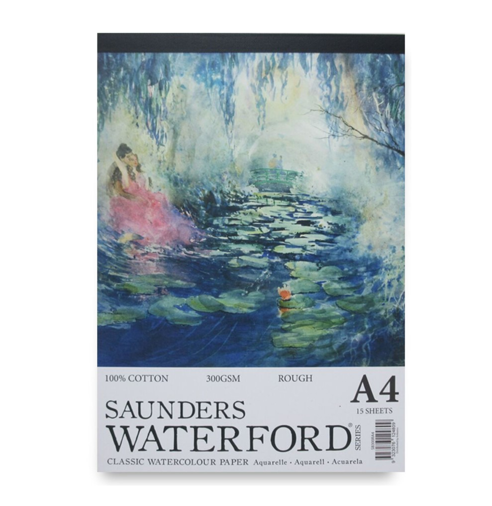 Saunders Waterford 300gsm Rough Watercolour Paper