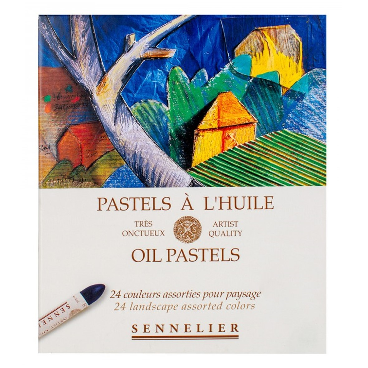 Sennelier Oil Pastel Set of 24 Landscape