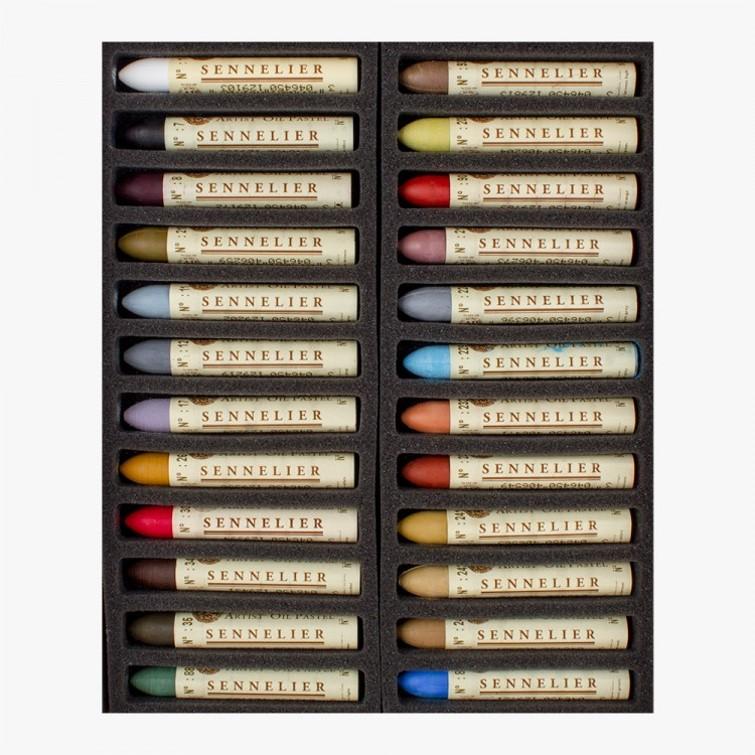 Sennelier Oil Pastel Set of 24 Still Life