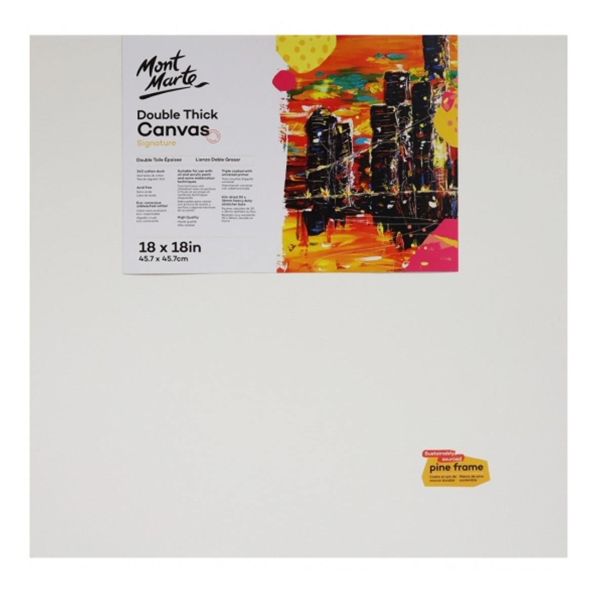 """Signature Canvas 45.7 cm x 45.7 cm / 18"""" Square"""