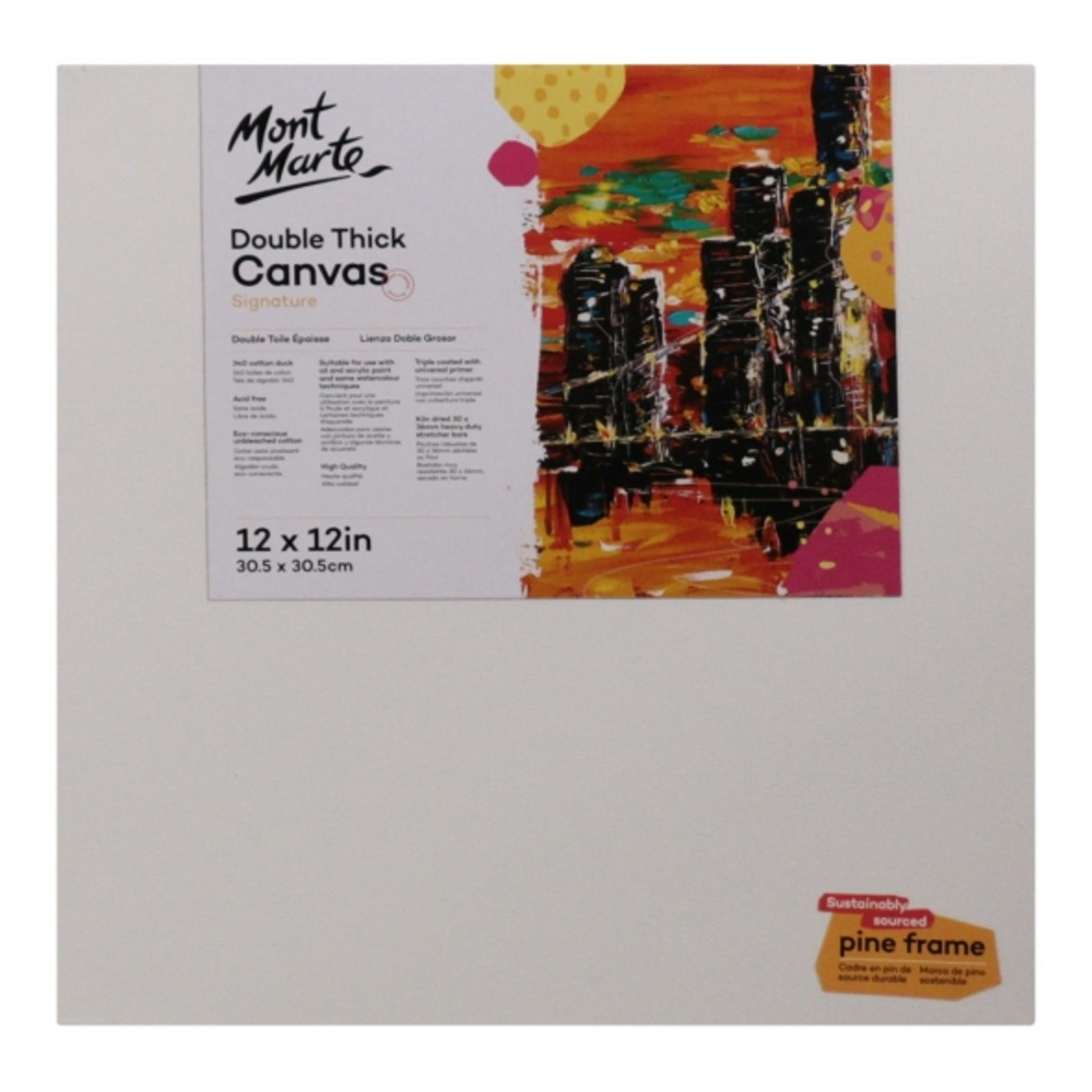 """Signature Canvas 30.5 cm x 30.5 cm / 12"""" Square"""