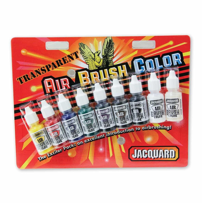 Air Brush Transparent Exciter Pack