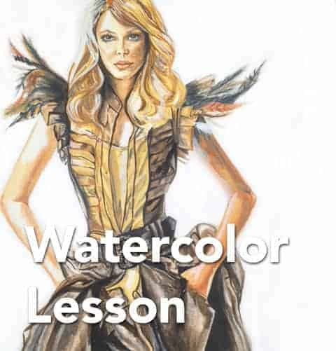 Beginners Watercolor Lesson