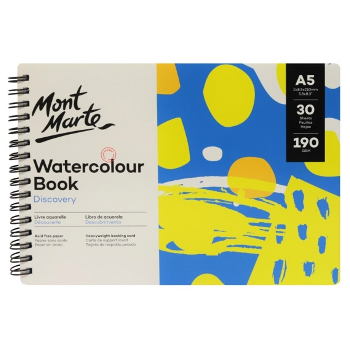 Watercolour A5 Book