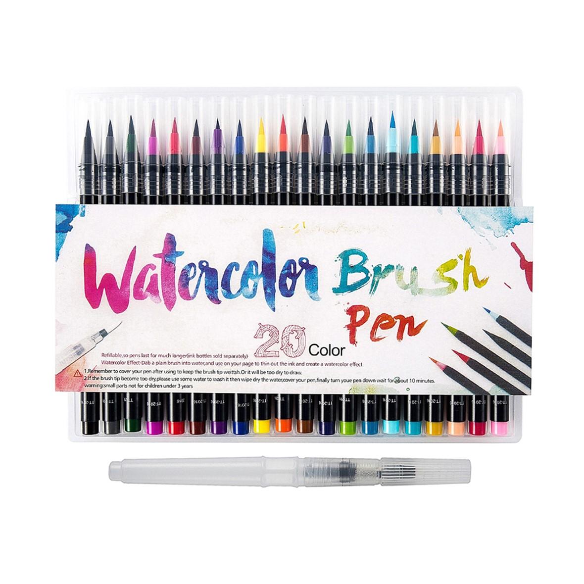Watercolour Brush Pen Set