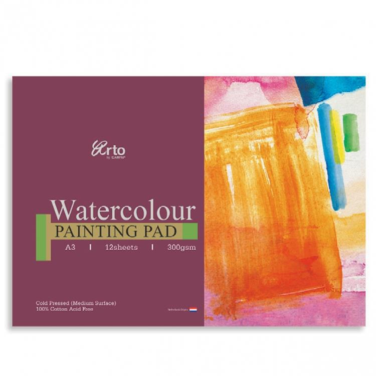 100% Cotton 300gsm Watercolour Painting Pad