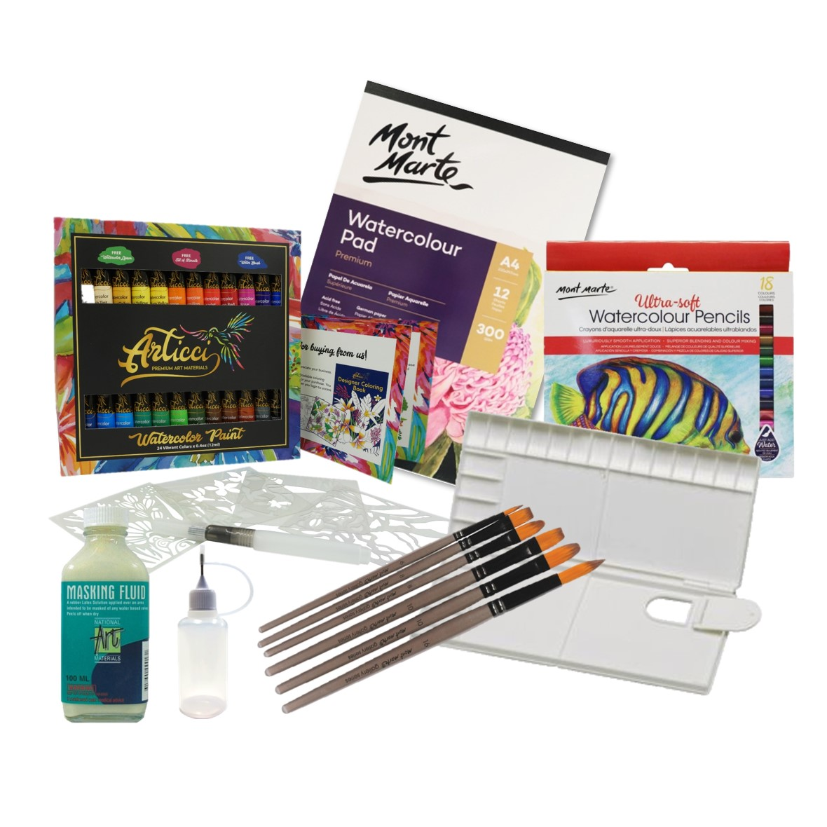 Watercolour Starter Set