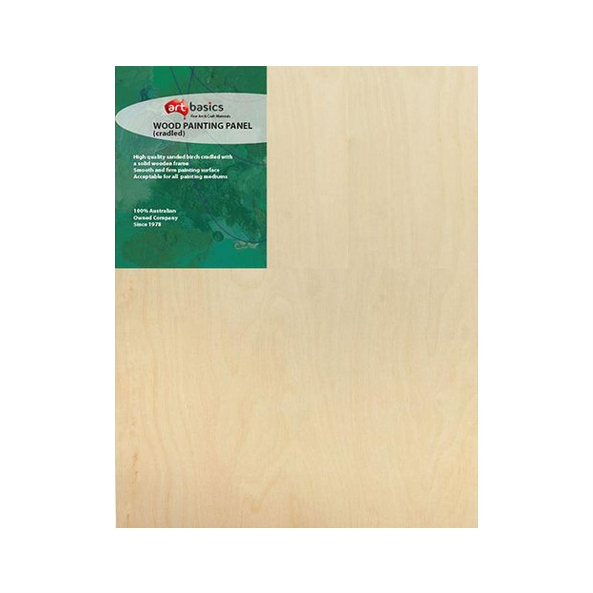 "Wood Painting Panel 20.3cm/8"" square"