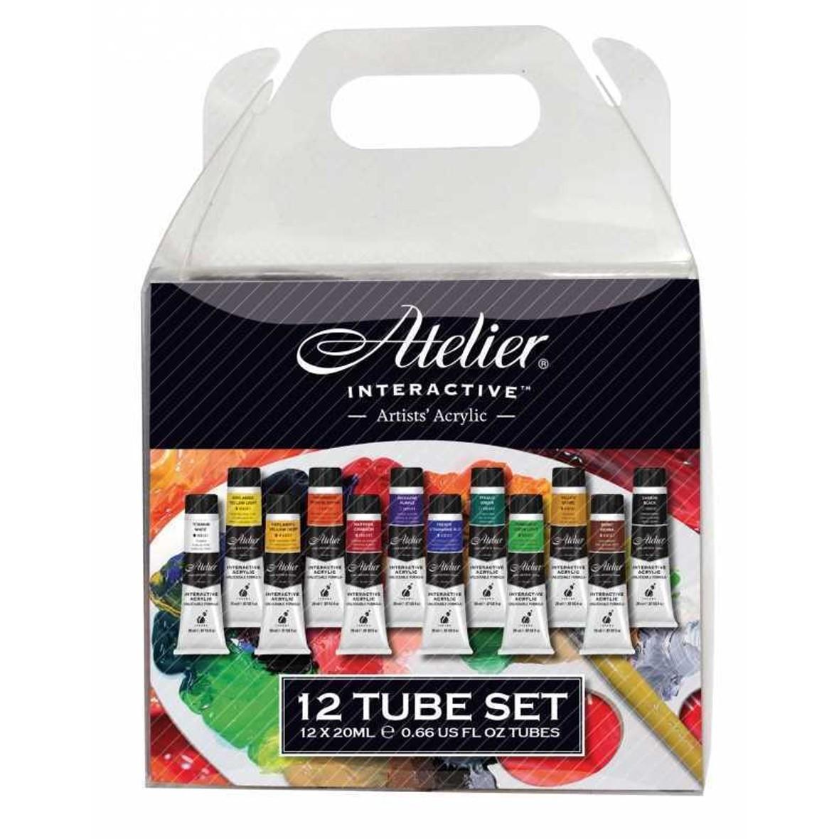 Atelier Interactive 12 Tube Set x 20ml