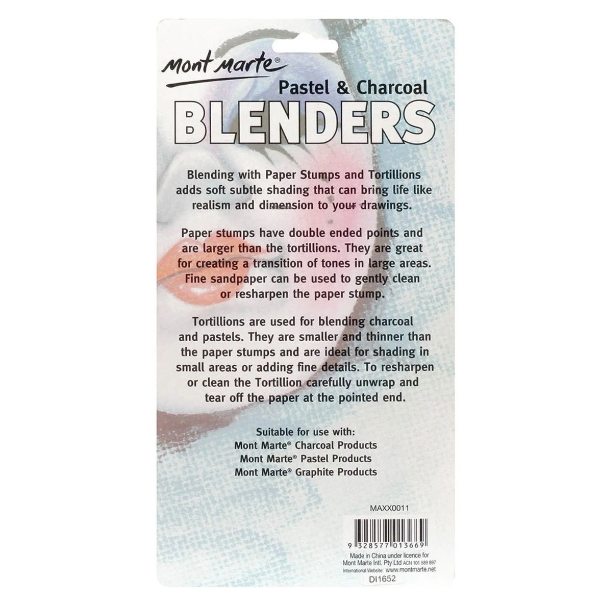 Tortillion and Paper Stump Blenders