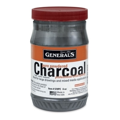 General's Pure Powdered Charcoal 170g