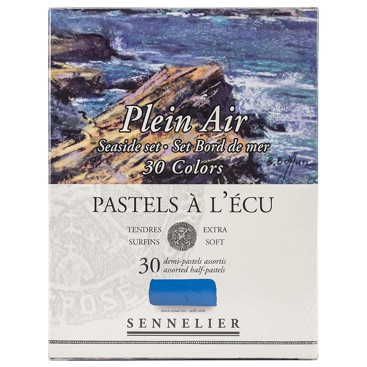 Sennelier 'Seaside' Extra Soft Half Pastels set of 30