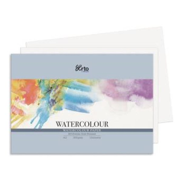 300gsm Cold Pressed Watercolour Paper A3 Sheet