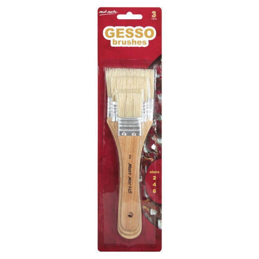 Gesso Brush 3pc Set