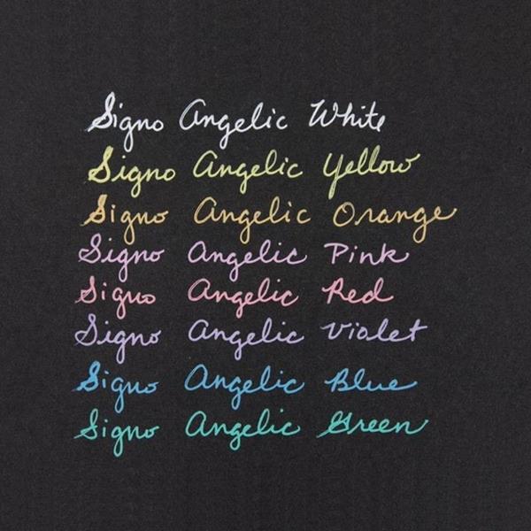 Uni-Ball Signo Fine Gel Pen Angelic White