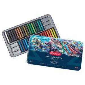 Derwent Inktense Blocks 36 colours