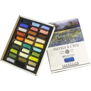 Sennelier 'Landscape' Extra Soft Half Pastels set of 30
